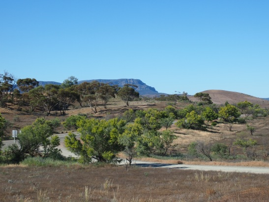 Long Open Road in the Flinders Ranges, South Australia
