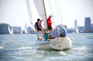 Sailing on Port Phillip Melbourne