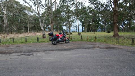 Top of the Great Divide in norther NSW