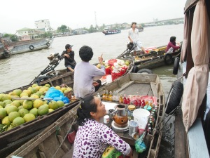 Floating market - CanTho