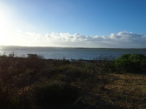 View of Coorong Lakes